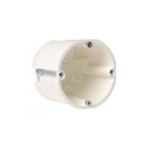Монтажная коробка (подрозетник) под гипсокартон глубиной 45мм, белого цвета