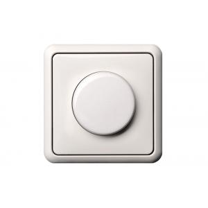 Поворотный диммер (светорeгулятор) 600W, без рамки, GAMA белый