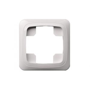Рамка 1-местная, ALFA белый