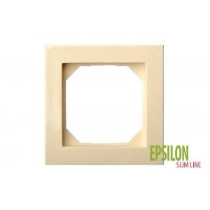 Рамка 1–местная SlimLine, EPSILON песочный