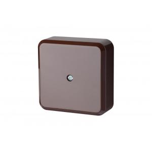 Коробка распределительная 81x81мм, коричневого цвета