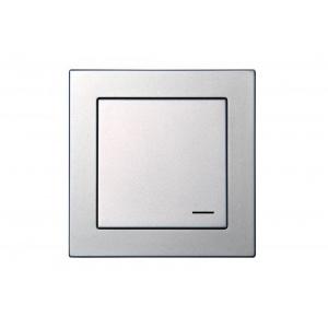 Комплект беспроводного управления освещением, с рамкой, EPSILON металлик