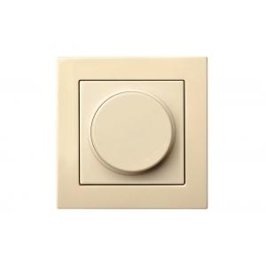 Диммер (светорeгулятор) поворотный 100W, без рамки, EPSILON песочный