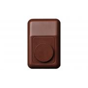 Дверной звонок, коричневый