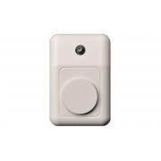 Дверной звонок со световым индикатором, белый