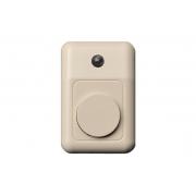 Дверной звонок со световым индикатором, песочный
