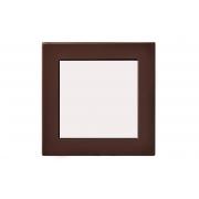Рамка 1-местная, EPSILON коричневый