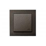 Комплект беспроводного управления освещением, с рамкой, EPSILON антрацит